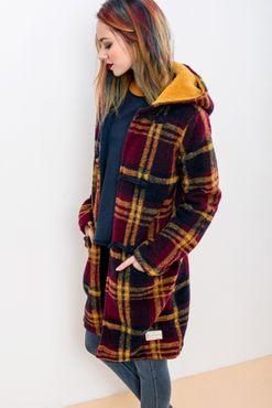 Kabát Checkered