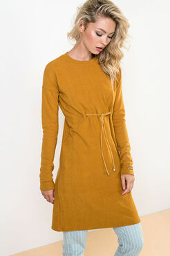 Šaty Tiedup Yellow